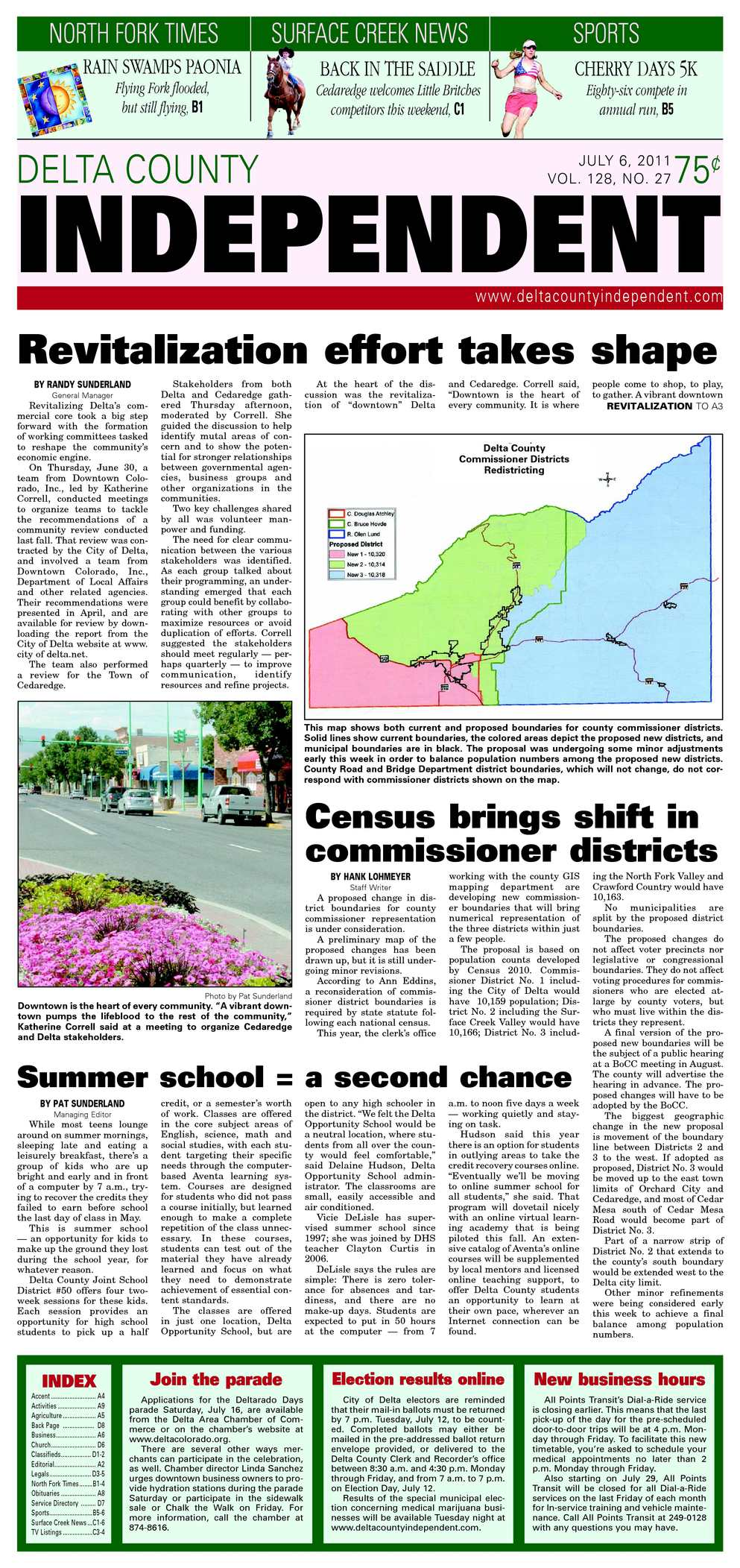 Calaméo - Delta County Independent, Issue 27, July 6, 2011