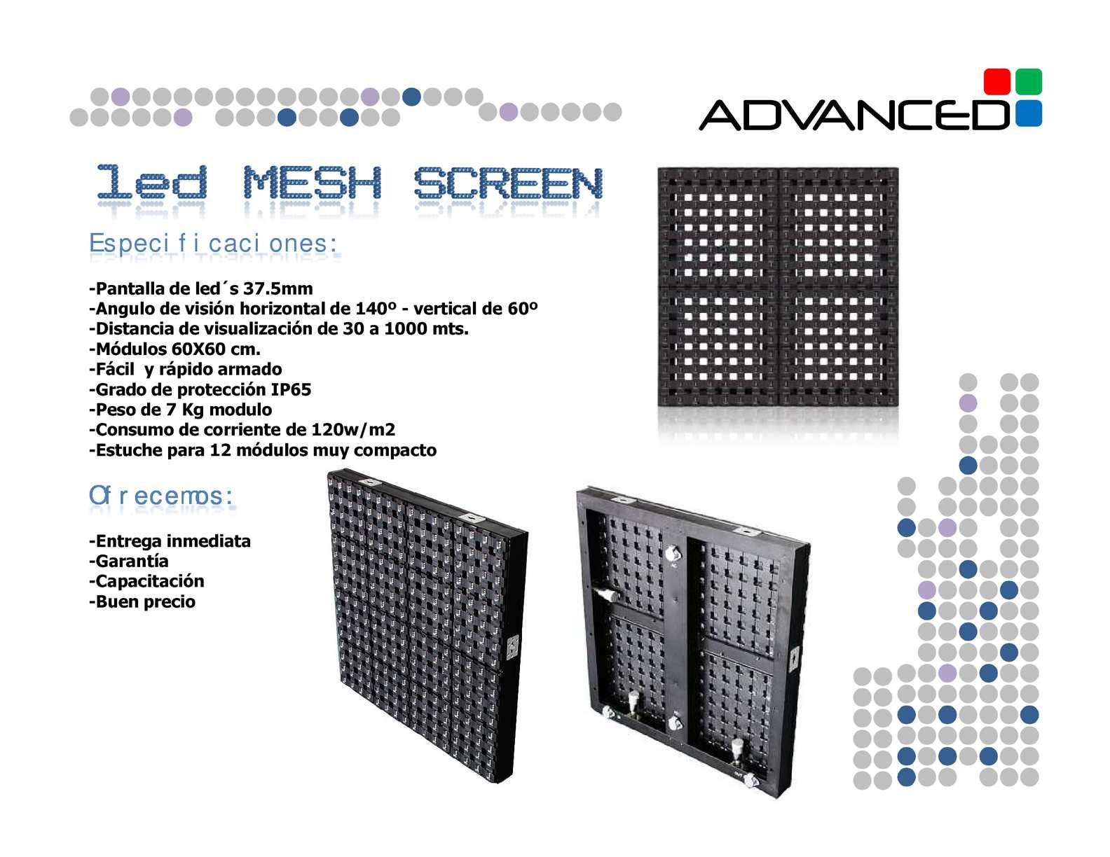 Calaméo - LED MESH SCREEN 37 5