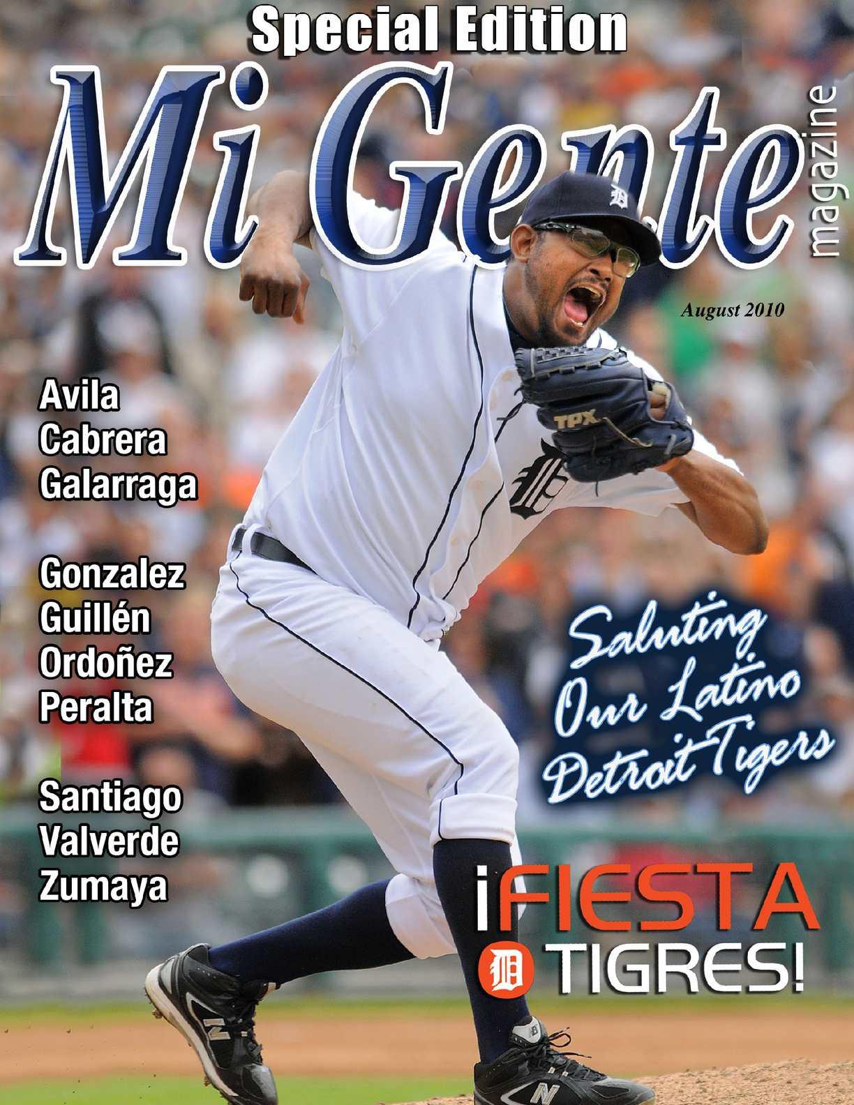 Calaméo - ¡Fiesta Tigres! Detroit Tiger Issue 2010 9897cfa7a26