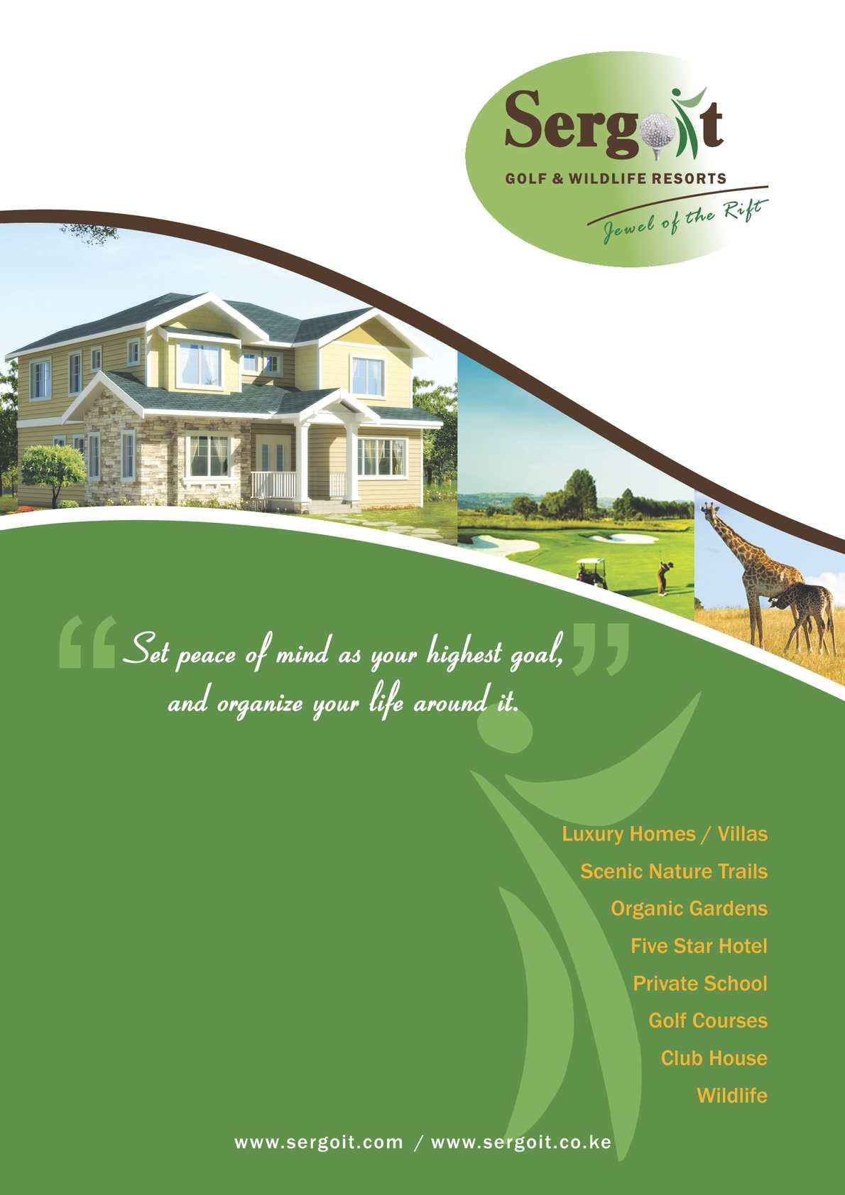 Calaméo - Sergoit Golf & Wildlife Resort - Brochure