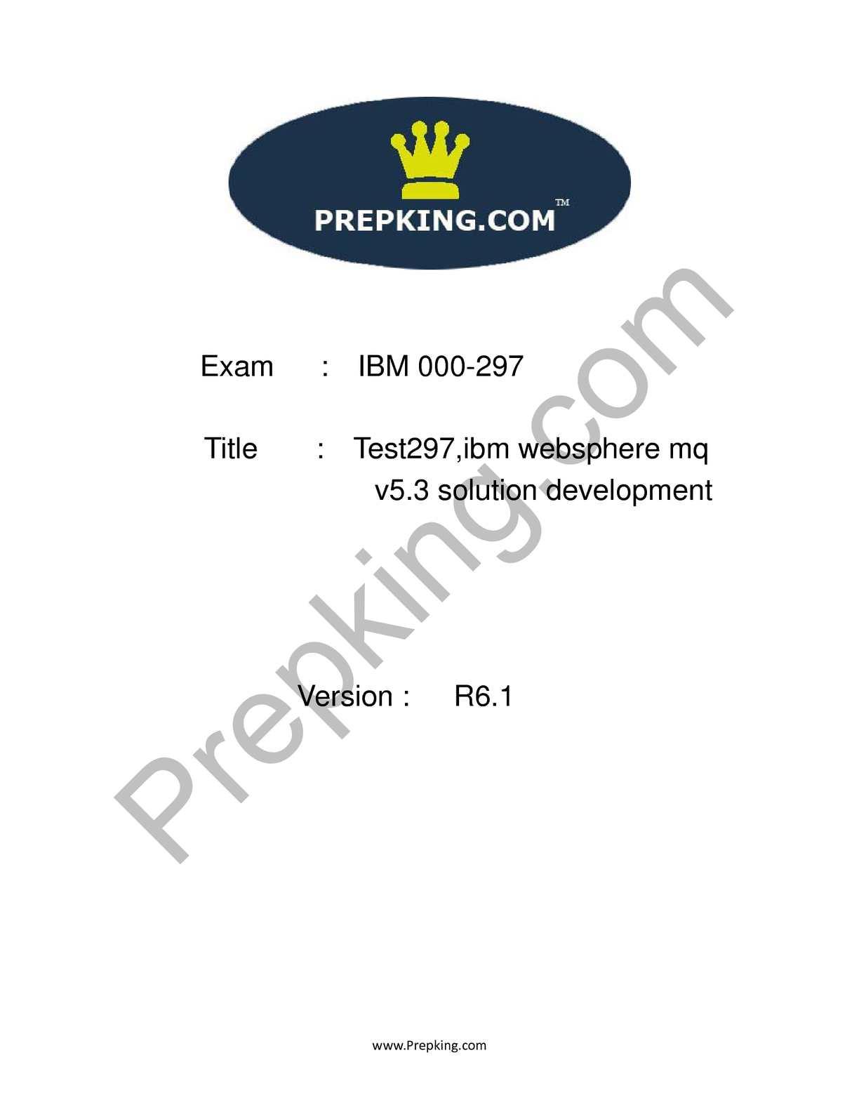 Calaméo - Prepking 000-297 Exam Questions