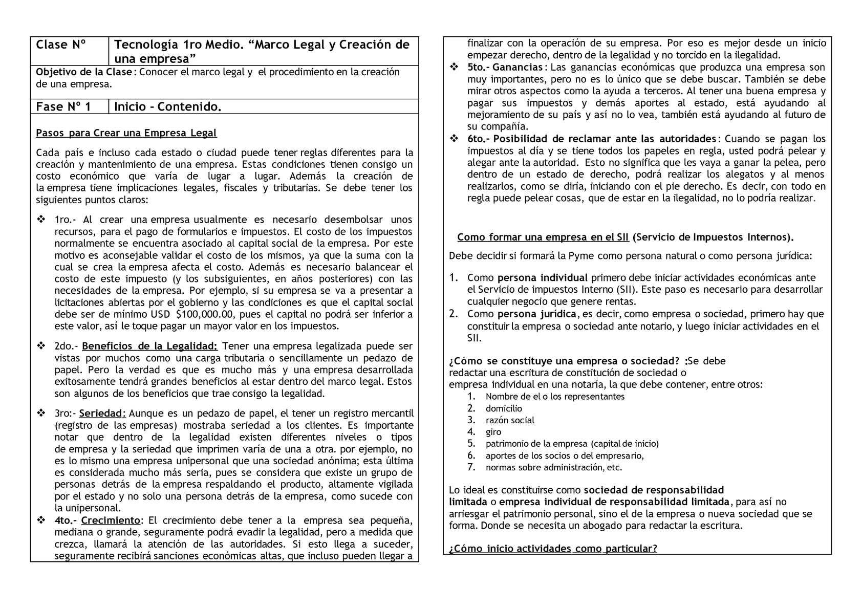 Calaméo Marco Legal Y Creacion De Una Empresa