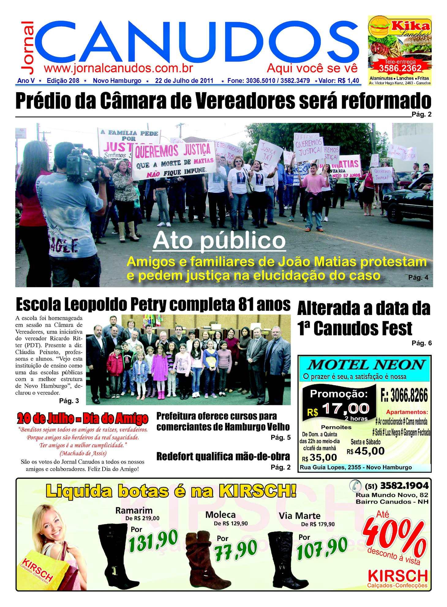 f2015b7915 Calaméo - Jornal Canudos - Edição 208