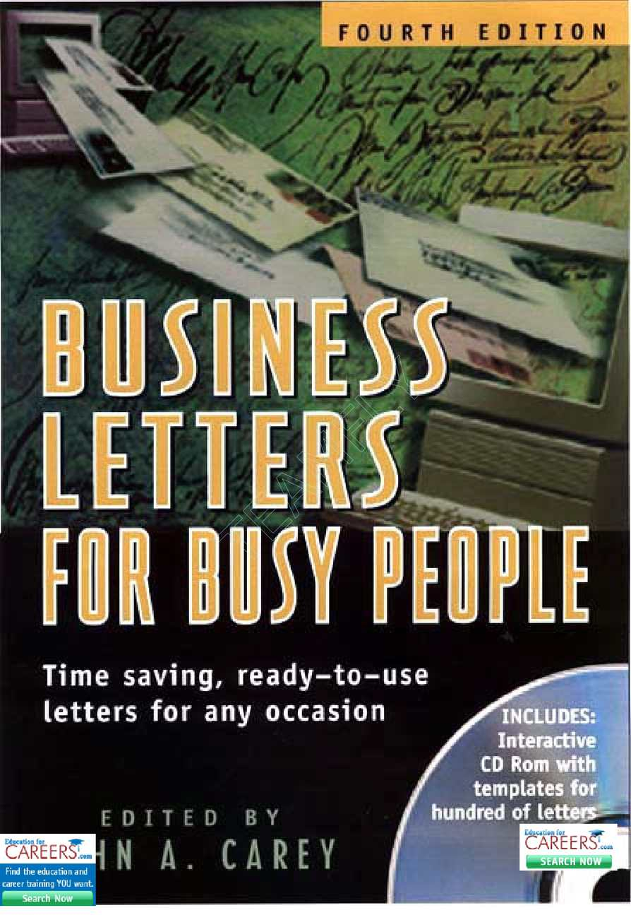 Calaméo - Business letters for busy people