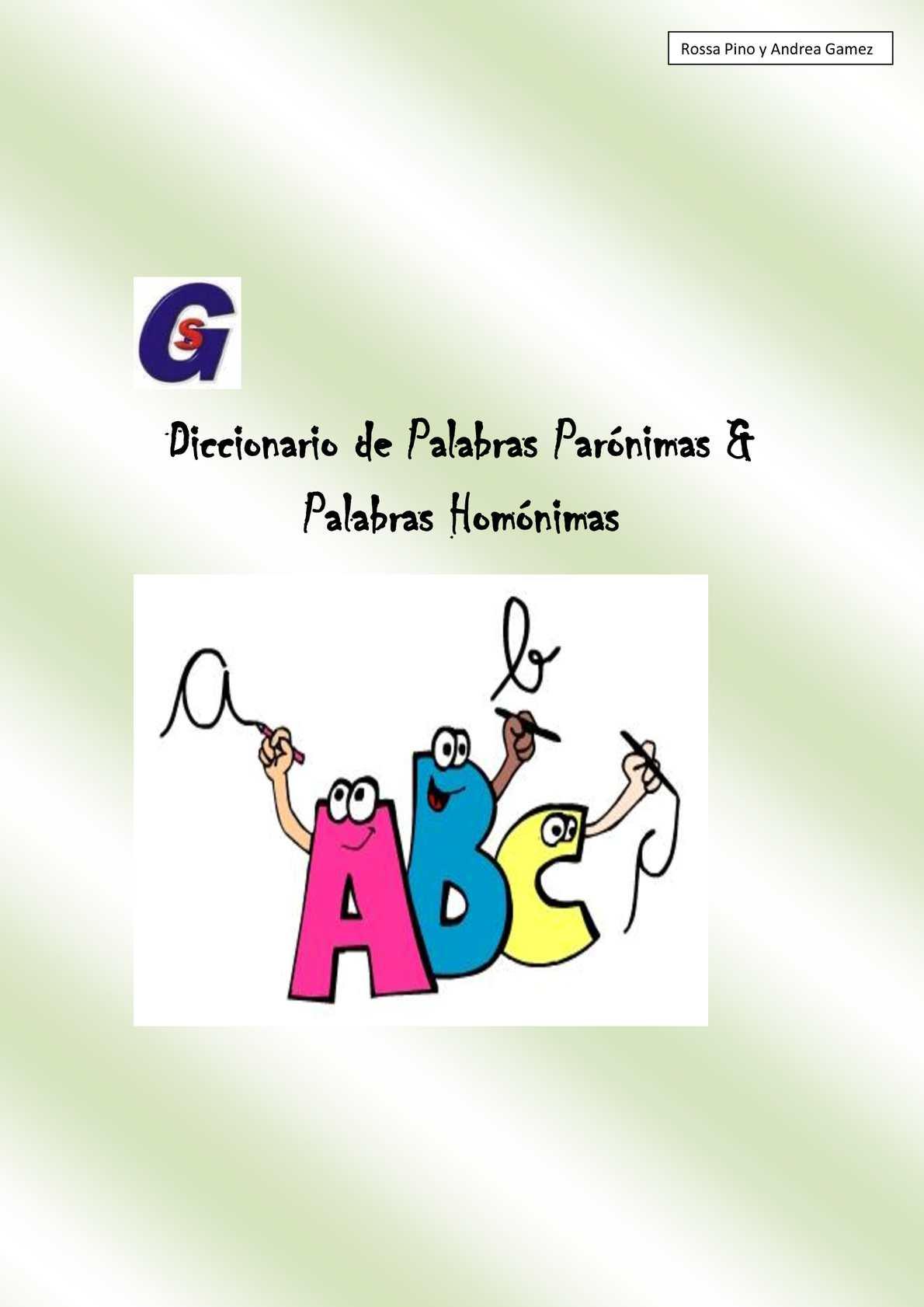 calameo diccionario de plabras homonimas  paronimas