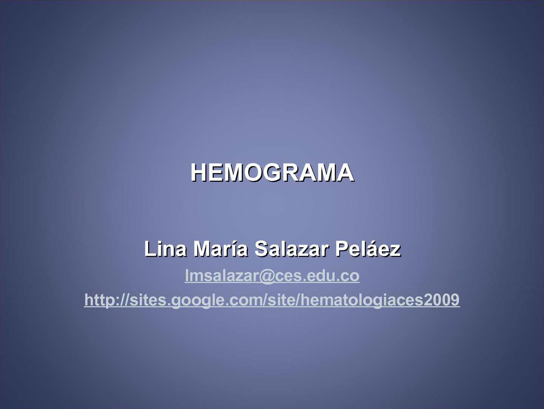 como se hace un hemograma manual