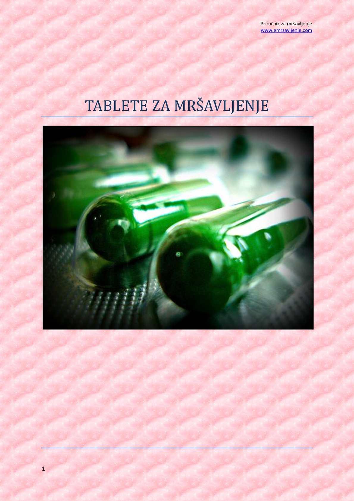 vitka tableta za mršavljenje