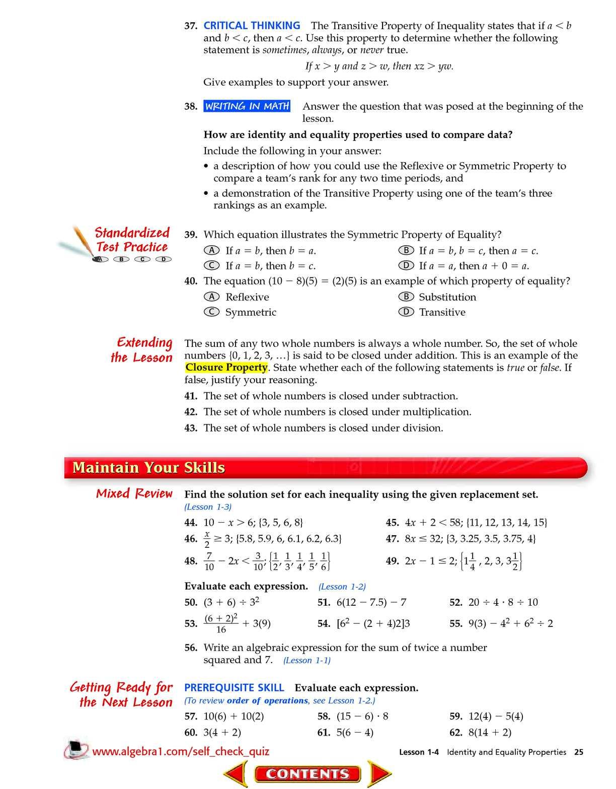 Algebra 1 McGraw-Hill - CALAMEO Downloader