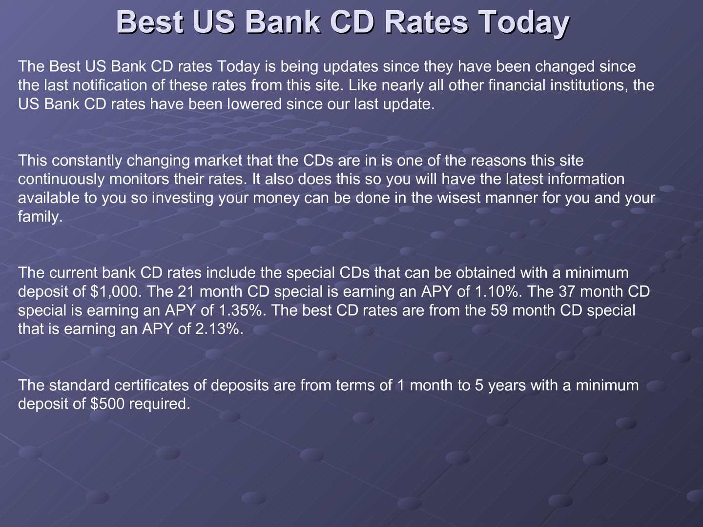 Best Cd Rates >> Calameo Best Us Bank Cd Rates Today