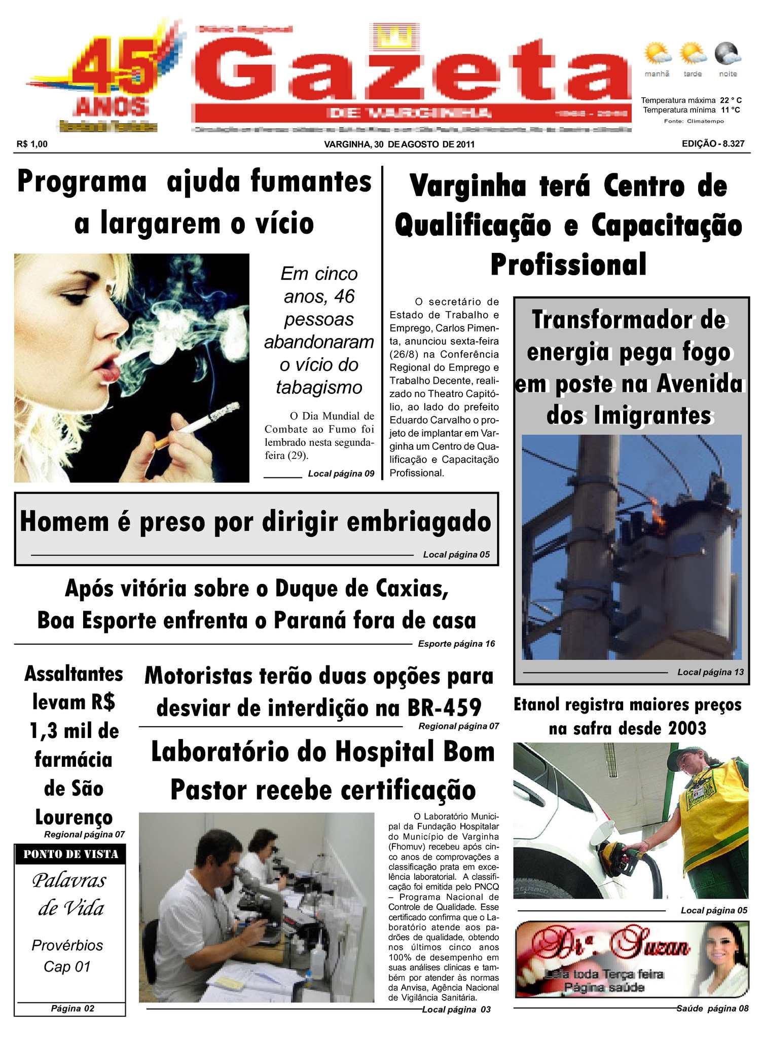 28d8f58eb5 Calaméo - Jornal Gazeta de varginha 30 08 2011