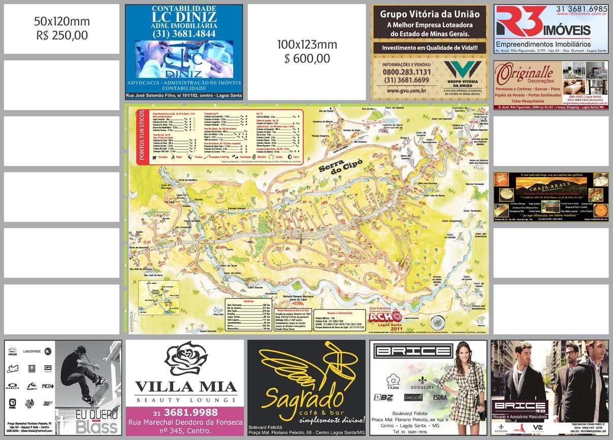 Mapa Serra Do Cipo Guia Acho 2011 Calameo Downloader