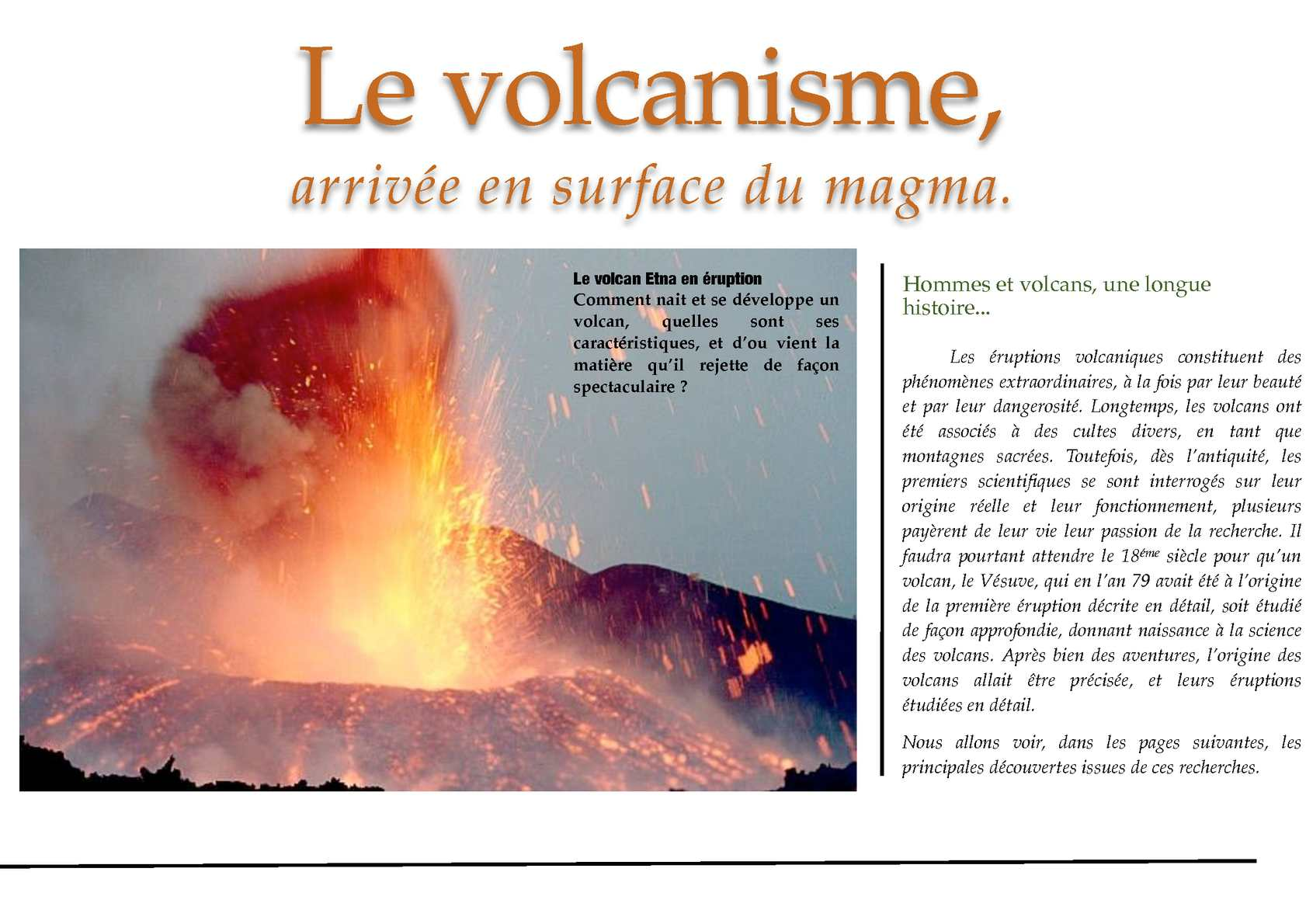 Calaméo Manuel SVT 4 2 Volcanisme