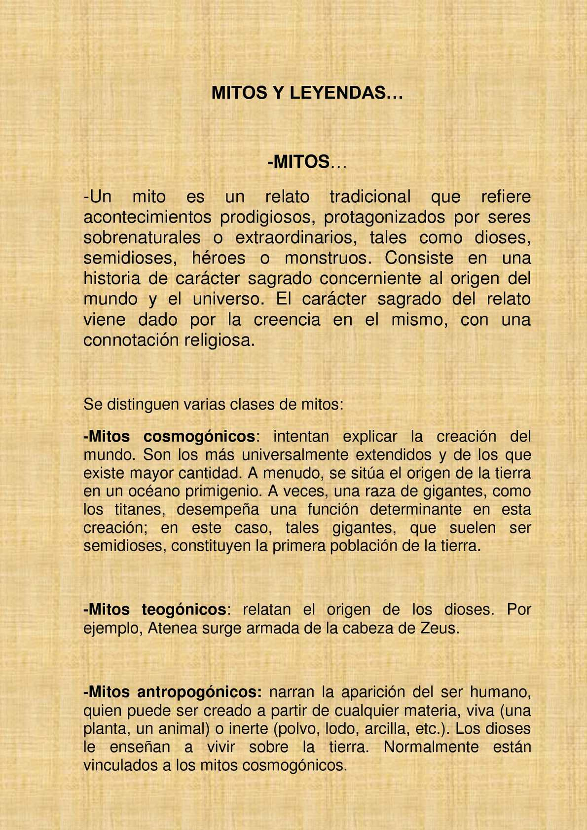 Calaméo Mitos Y Leyendas