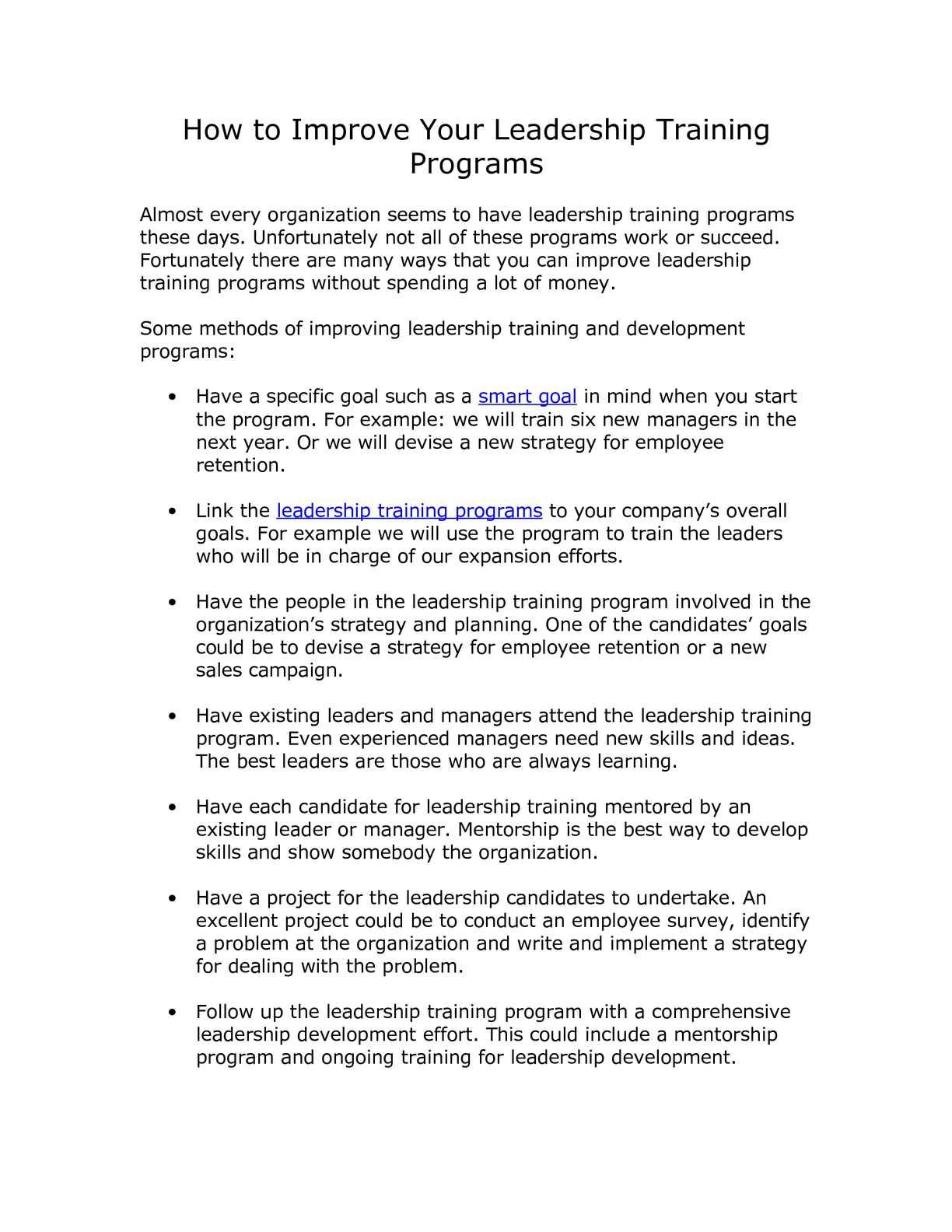 foto de leadership training programs for employees