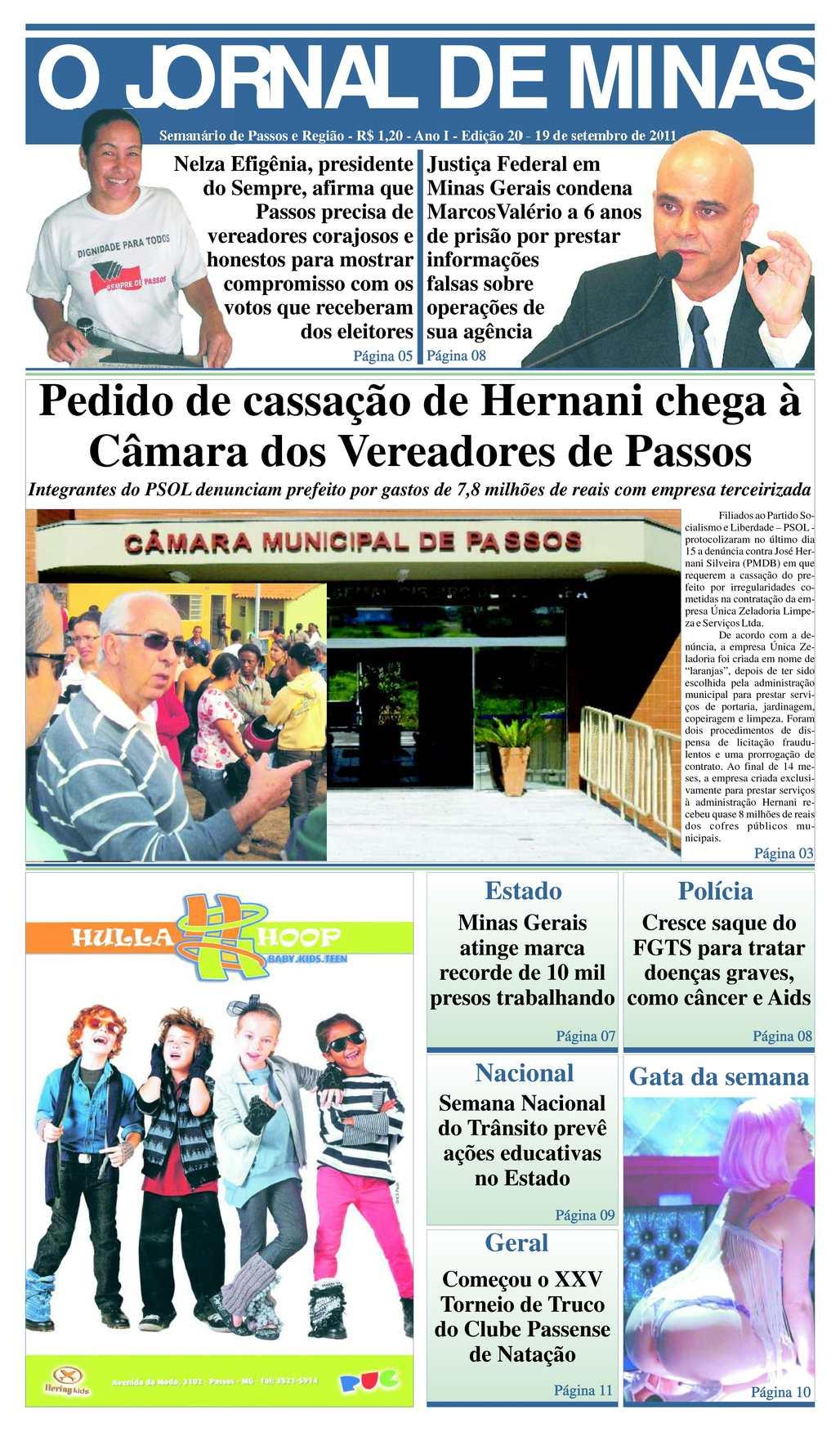 e103acd237 Calaméo - O Jornal de Minas Edição 20 de 19 de setembro de 2011
