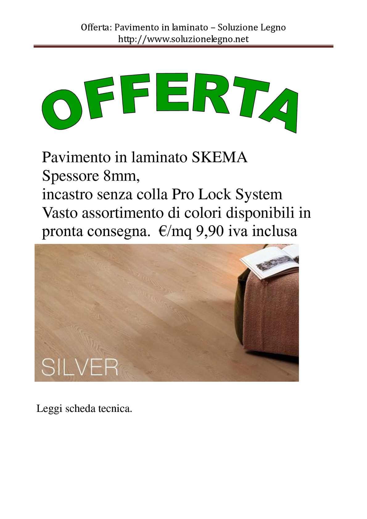 Calaméo - Soluzione Legno: Offerta Laminato (http://www ...