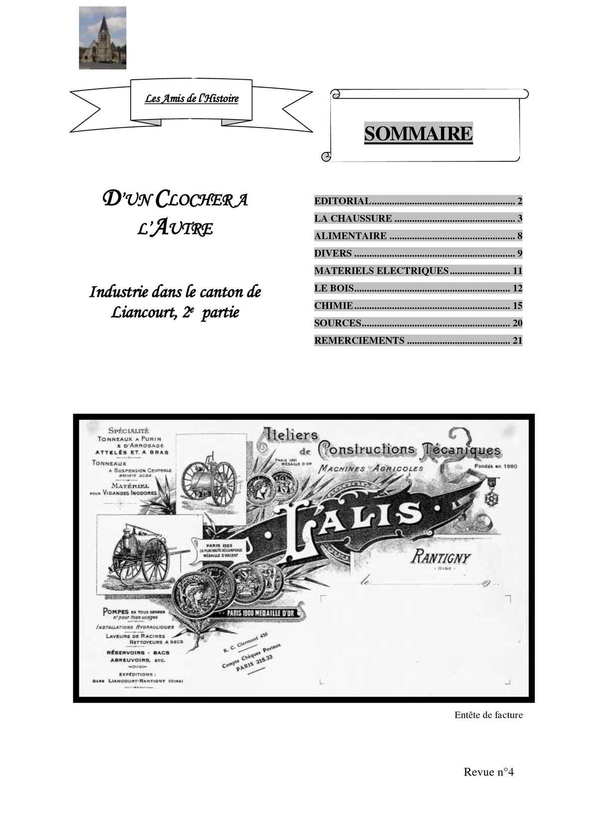 Industrie dans le canton de Liancourt (2eme partie)