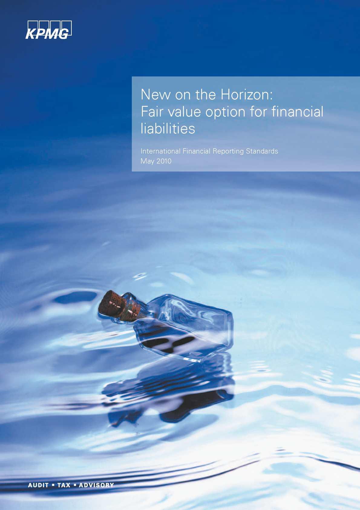 Calaméo - KPMG - Fair Value Option for Financial Liabilities