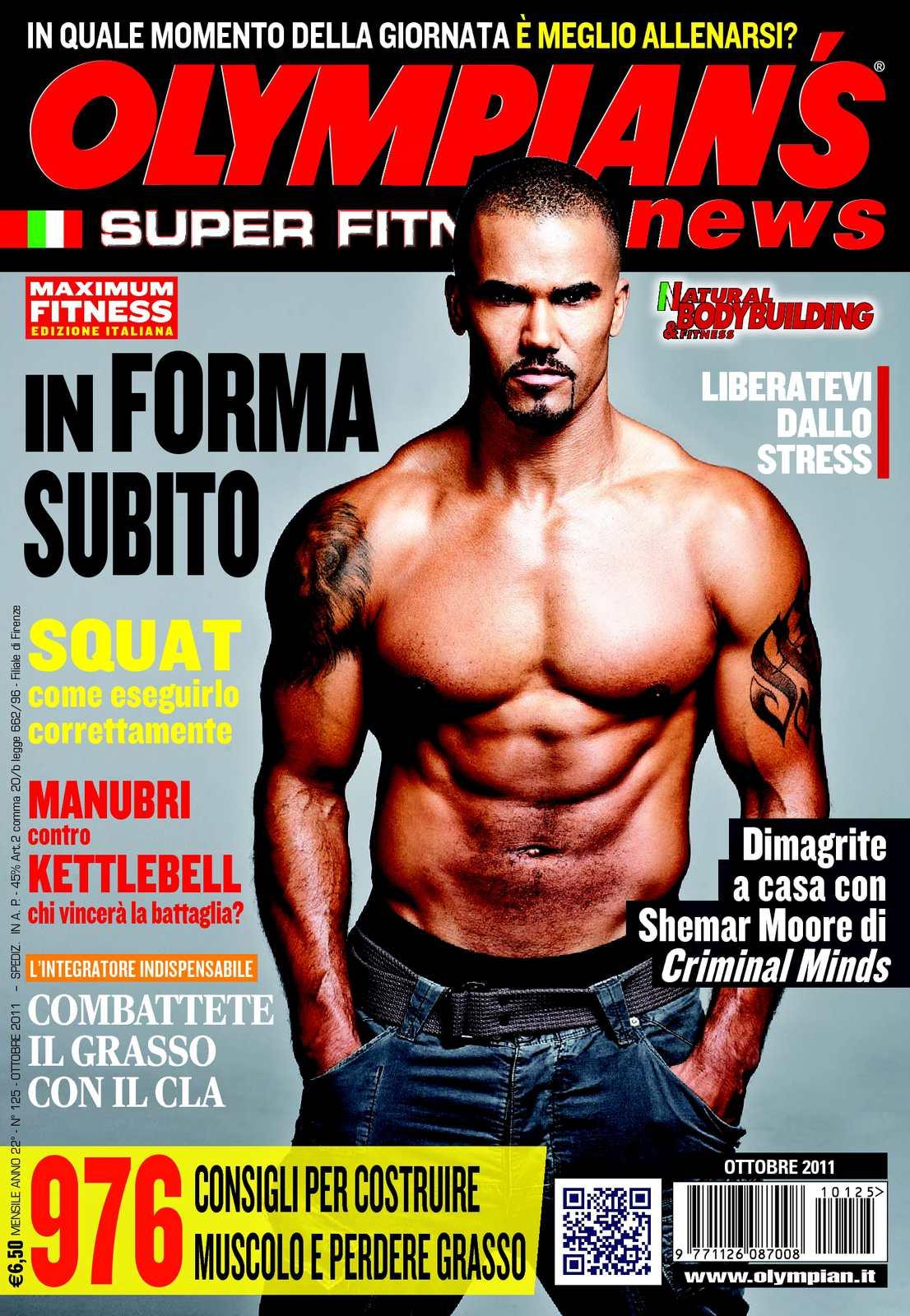 finest selection eb8d0 07be9 Calaméo - Olympian s News e Natural bodybuilding Ottobre 2011