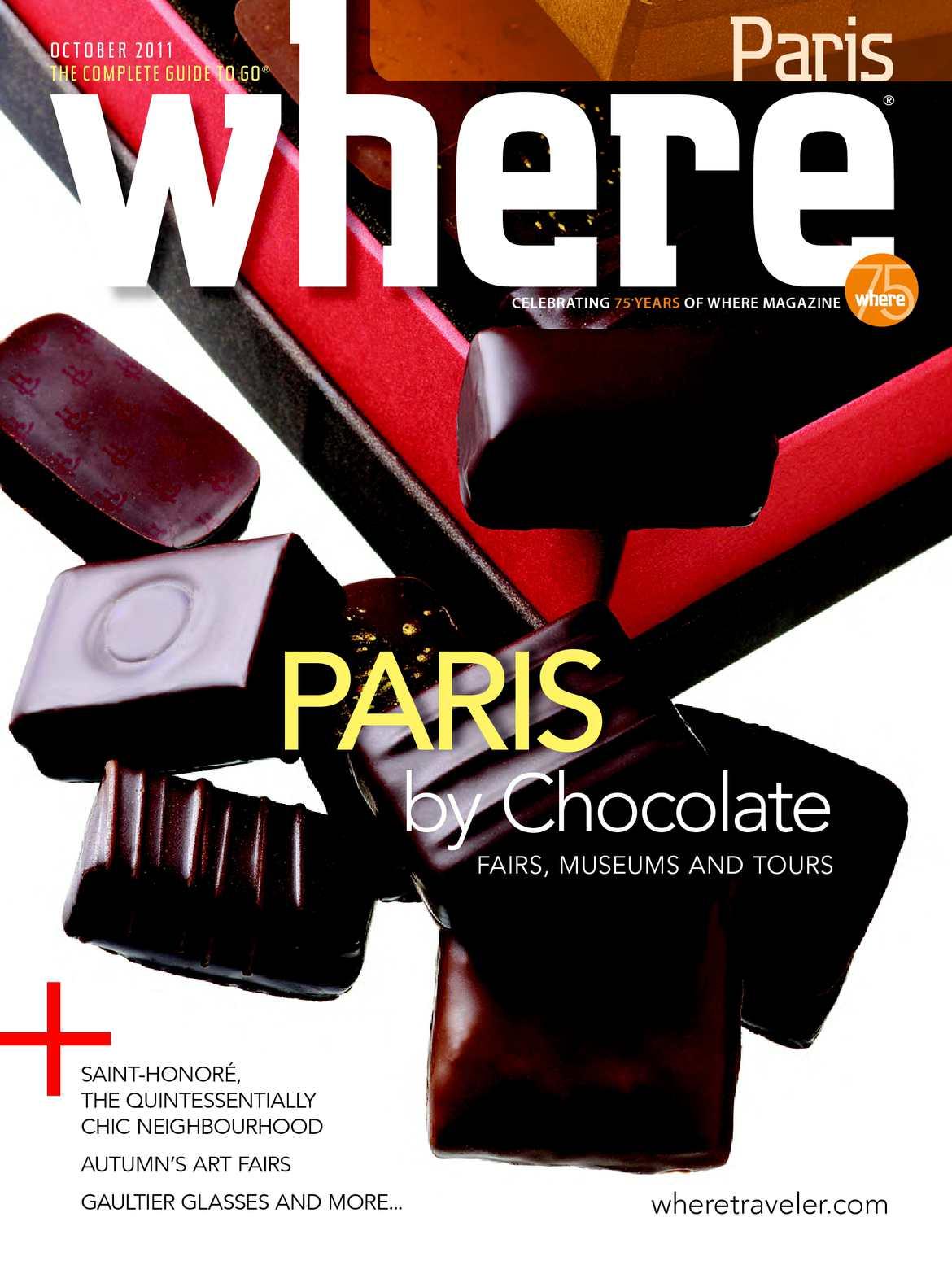 Calaméo Where Paris Magazine Octobre 2011