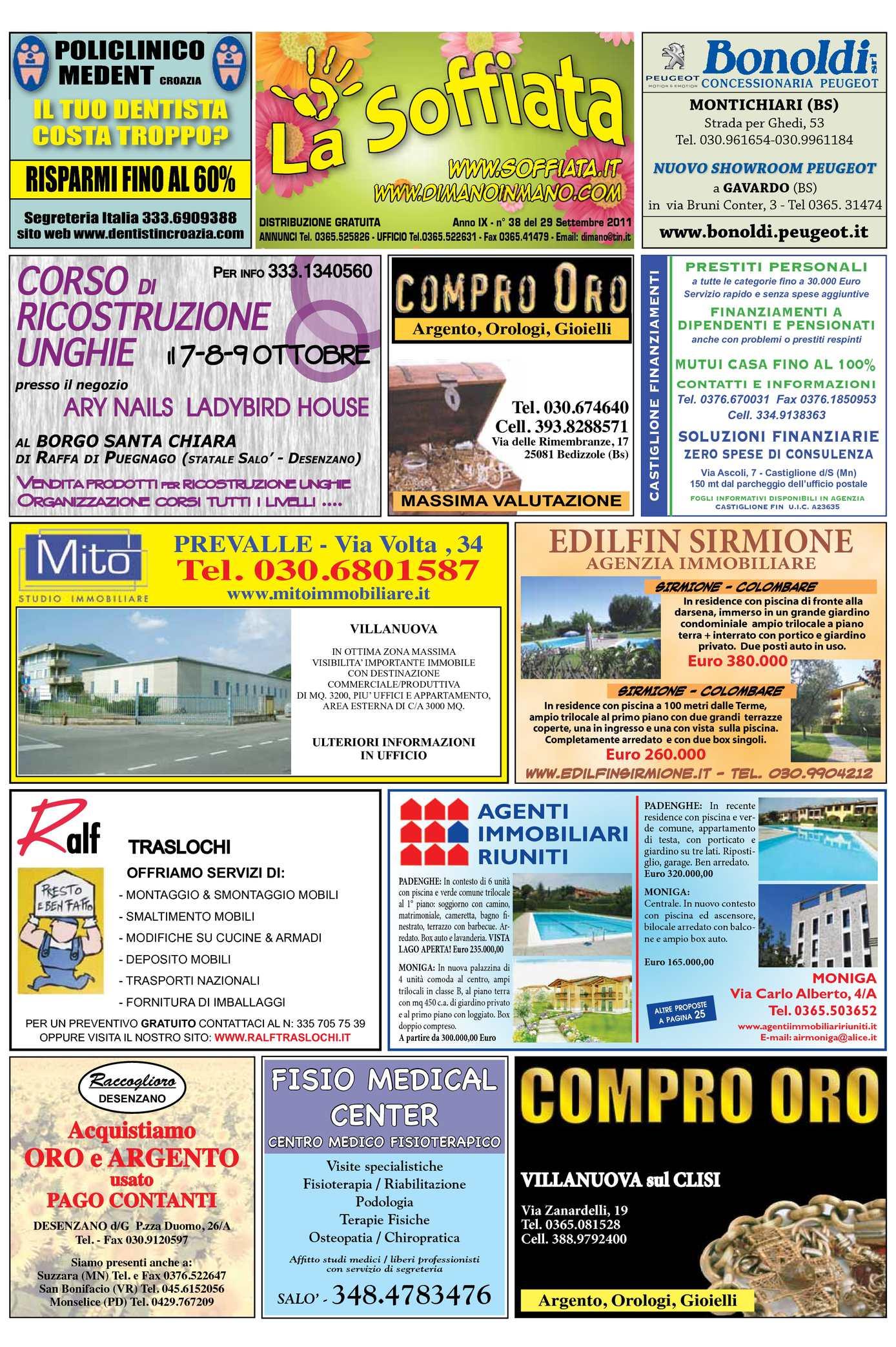 5ad8d03dfb Calaméo - La Soffiata 29-09-2011