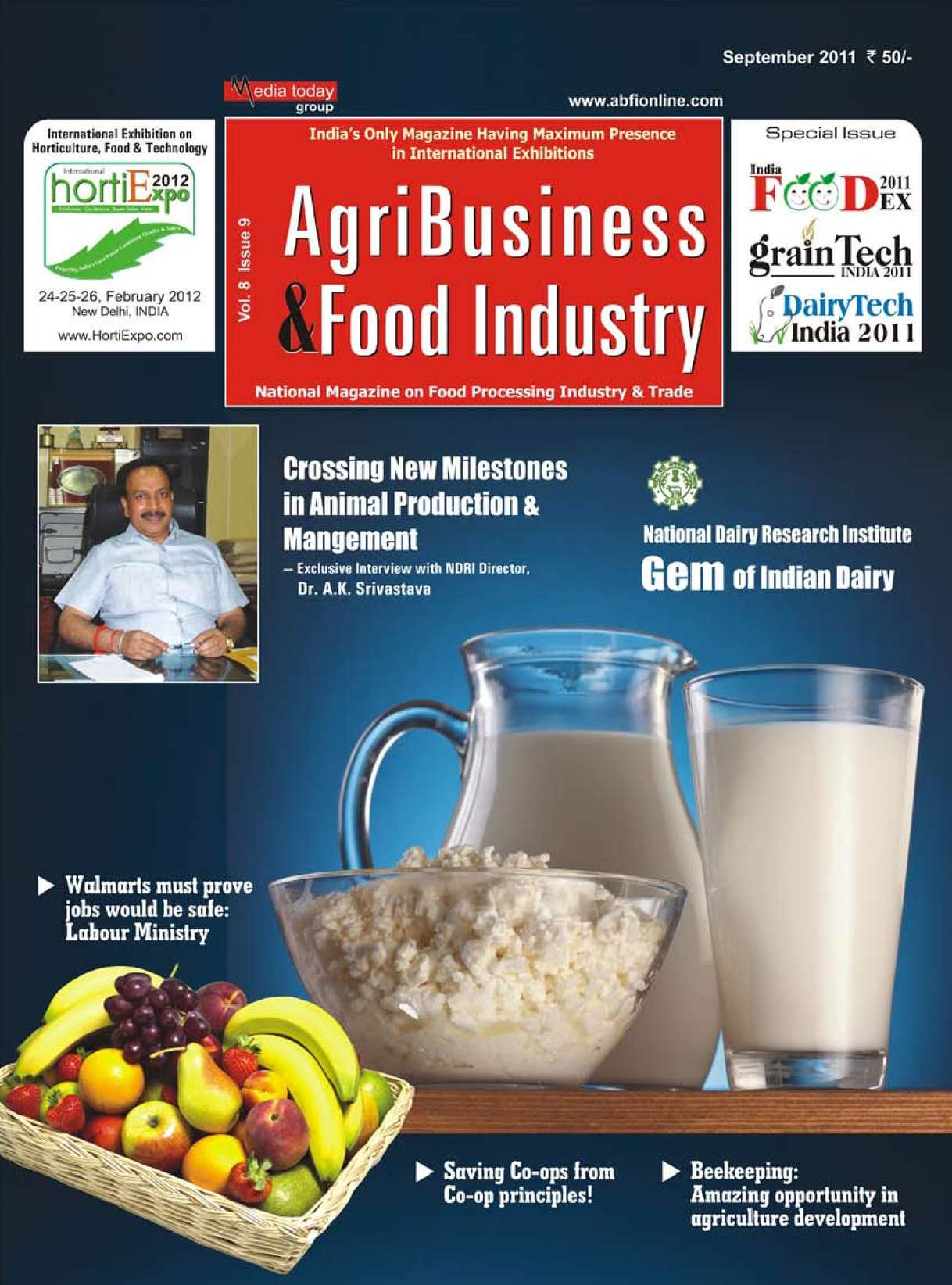 Calaméo - AgriBusiness & Food Industry - Sept  2011 (INDIA)