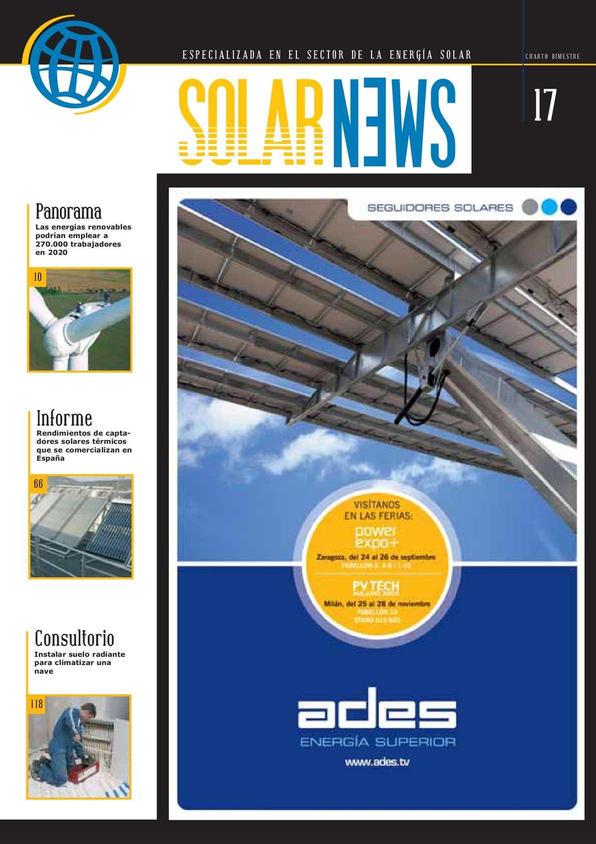 Calaméo Revista Solar News N17