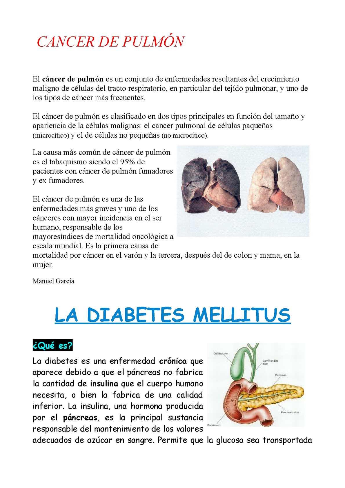 diferentes tipos de diabetes en humanos