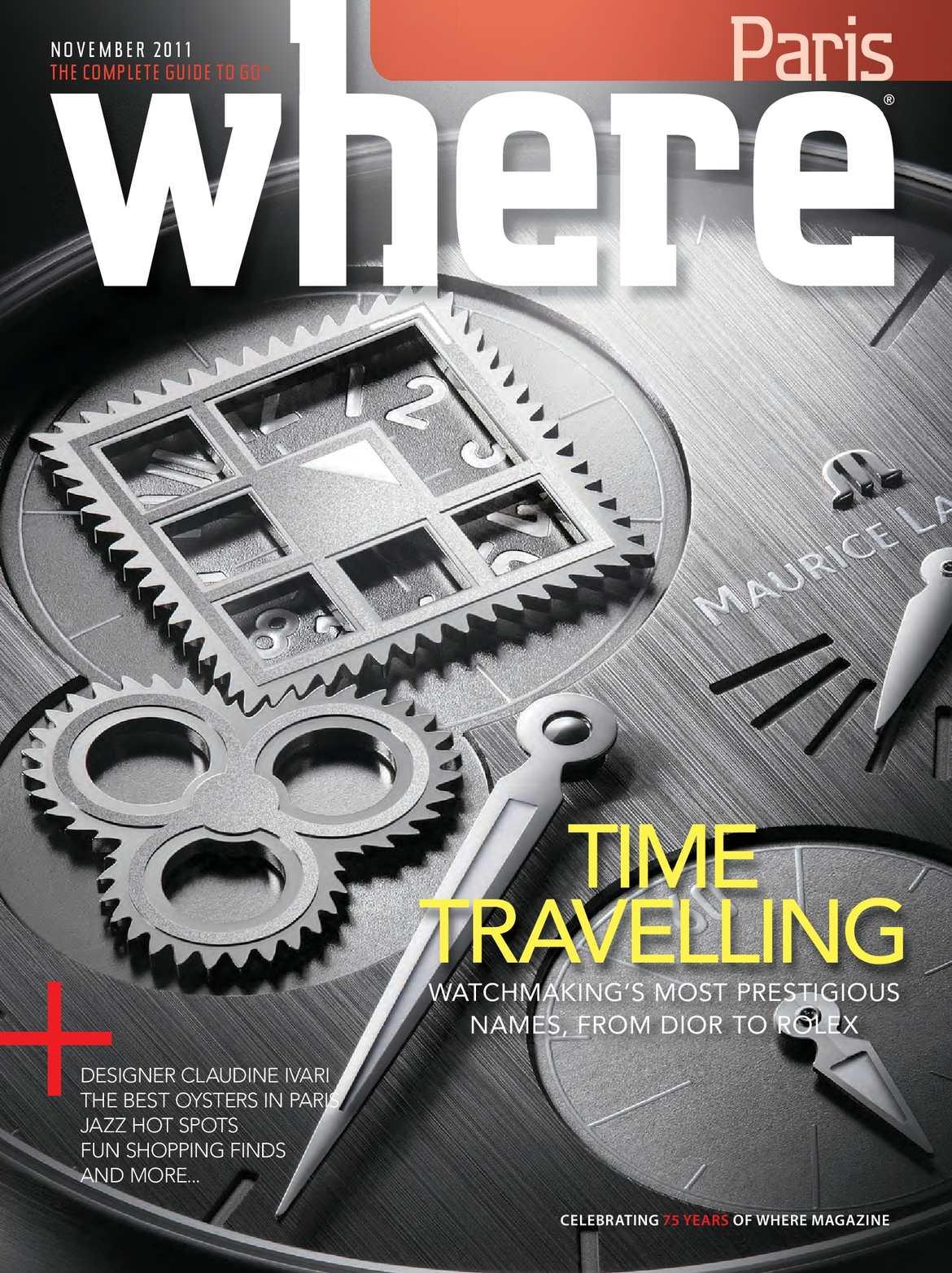 503de6c10942 Calaméo - Where Paris Magazine - Novembre 2011