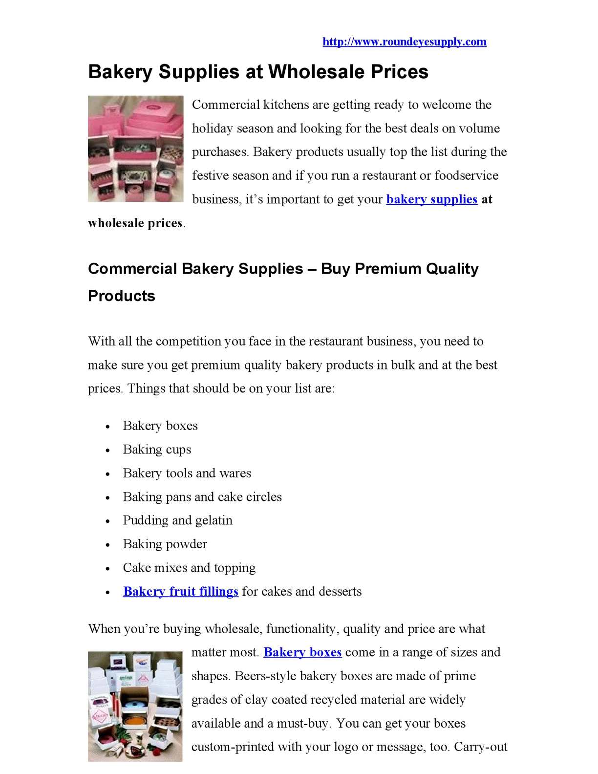 Calaméo - Bakery Supplies at Wholesale Prices