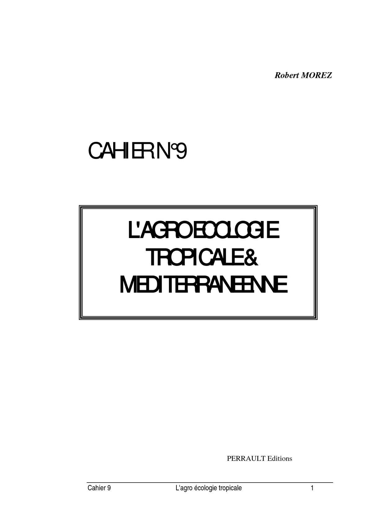 99b2c60a4ad4 Calaméo - Agroécologie tropicale et méditerranéenne