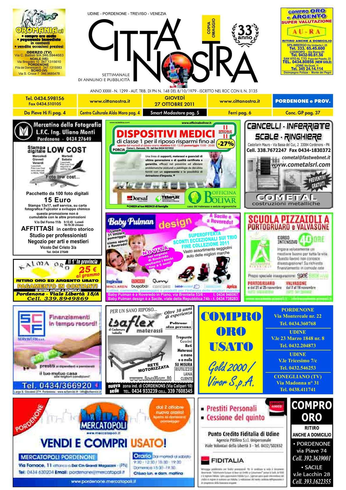 N1299 10 2011 Nostra Pordenone 27 Del Calamᄄᆭo Cittᄄᄂ ED2beYWH9I