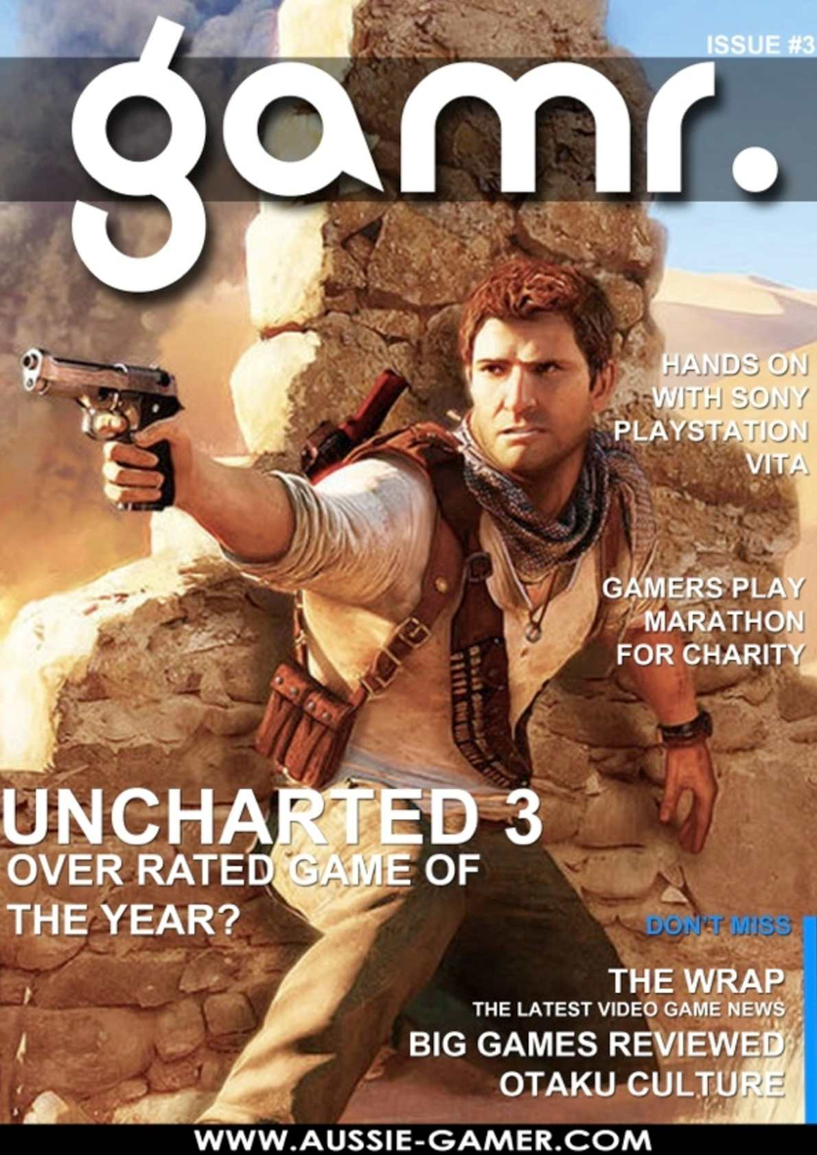 Calameo Gamr Issue 3 Is Uncharted 3 The Over Rated Game Of