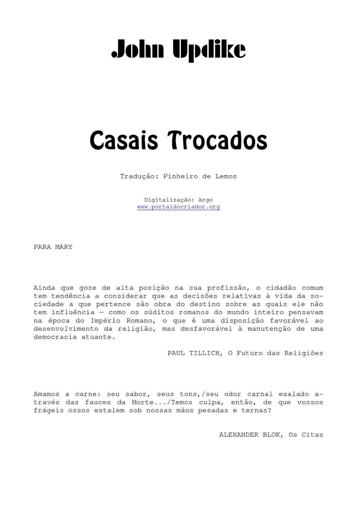 d5e4079db6a Calaméo - Casais trocados
