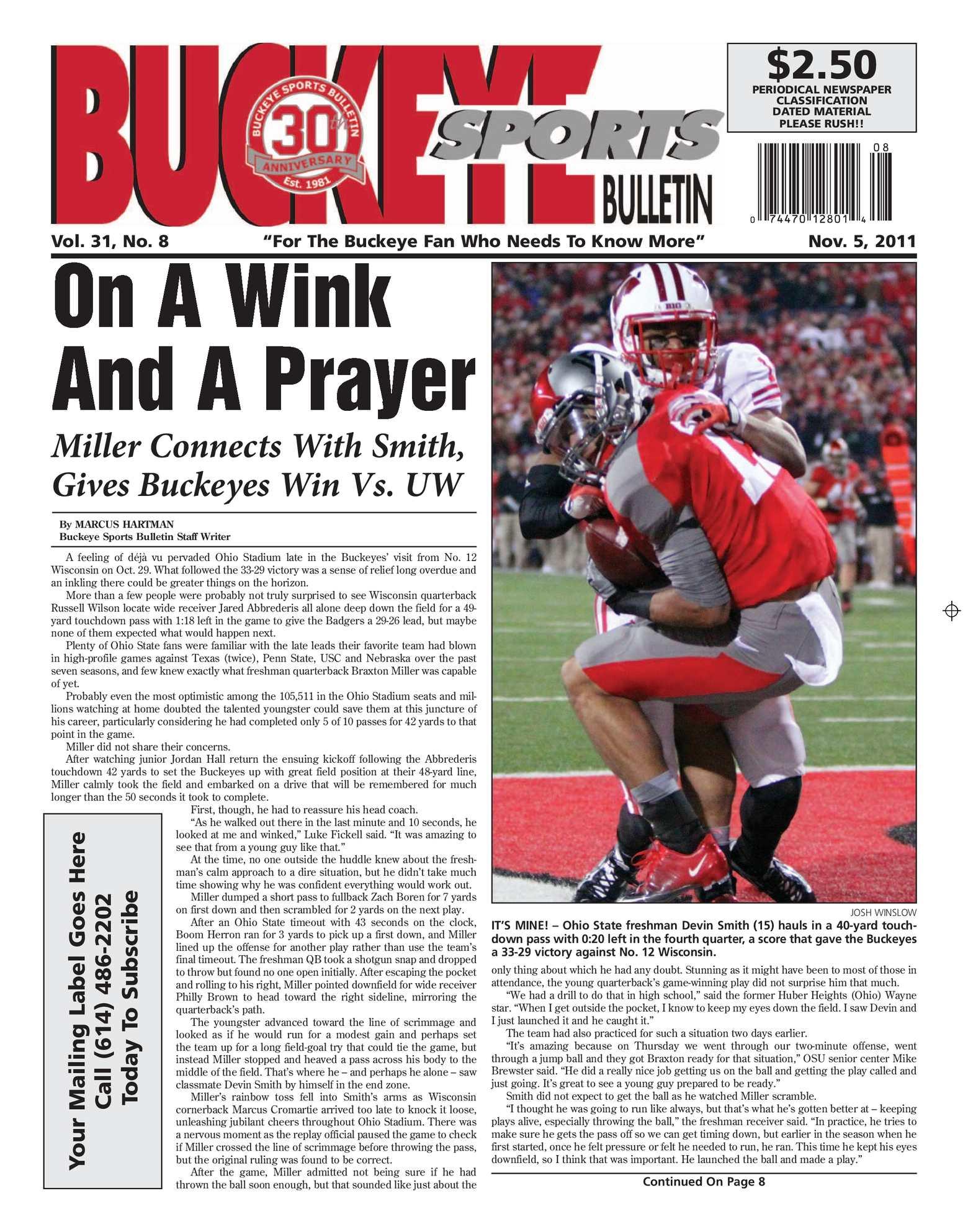 Calaméo - Buckeye Sports Bulletin November 5 39f3c12e3