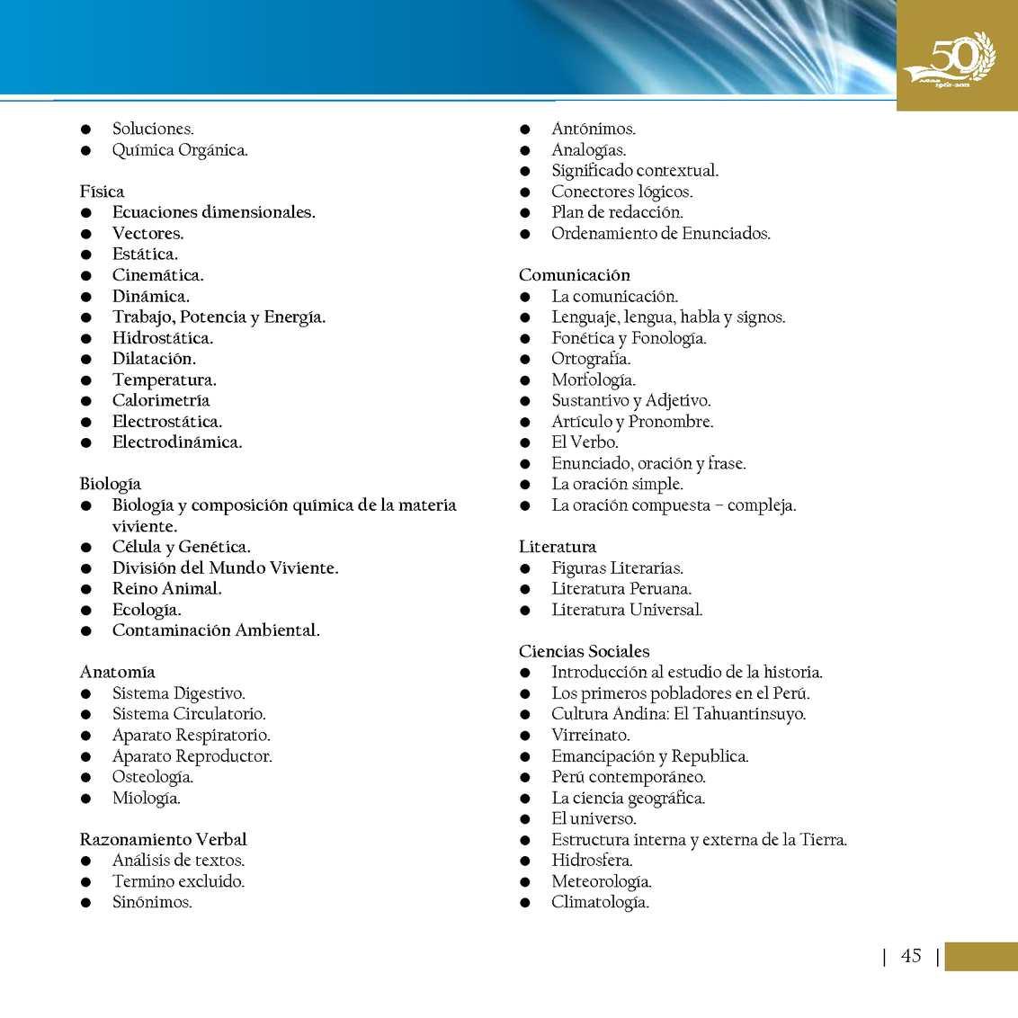 Prospecto De Examen Extraordinario 2012 Calameo Downloader