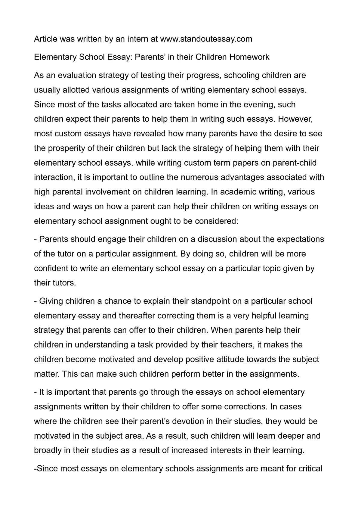 should schools do away with homework argumentative essay