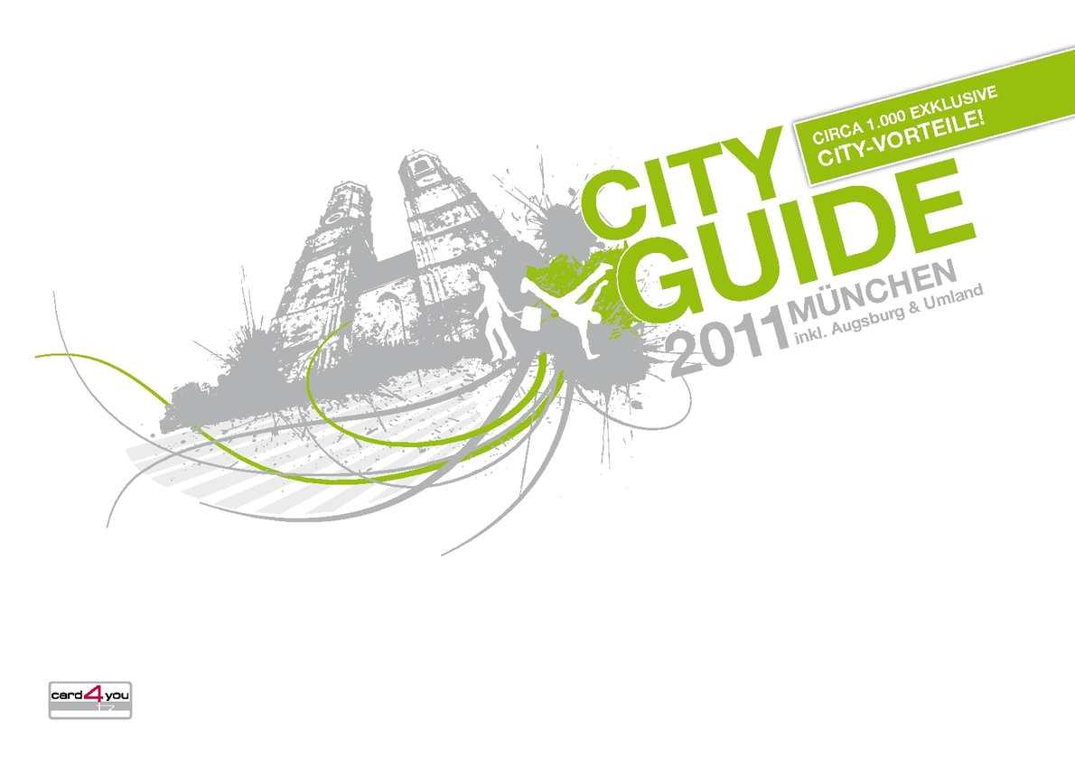 Calaméo card4you CityGUIDE 2011