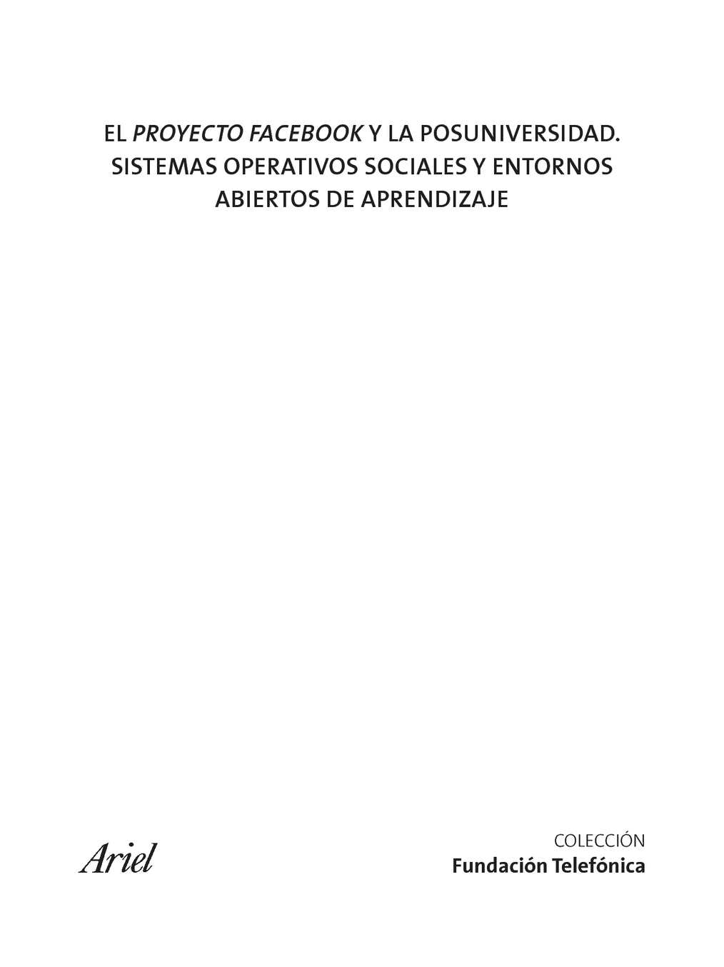 Calaméo - proyecto facebook y la post universidad 203a19cb967