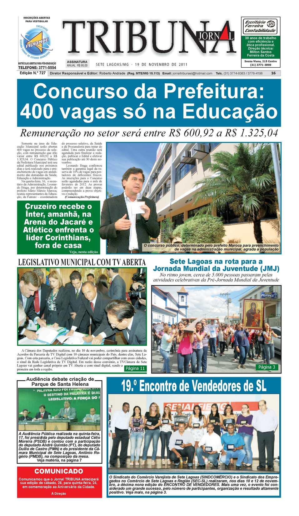 Calaméo - Jornal Tribuna de Sete Lagoas 92e328779ce73