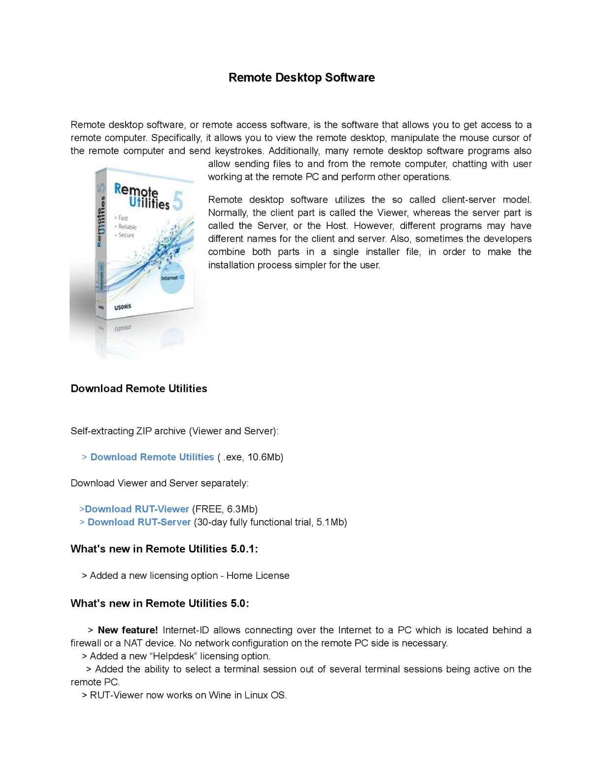 Calaméo - Remote Desktop Software
