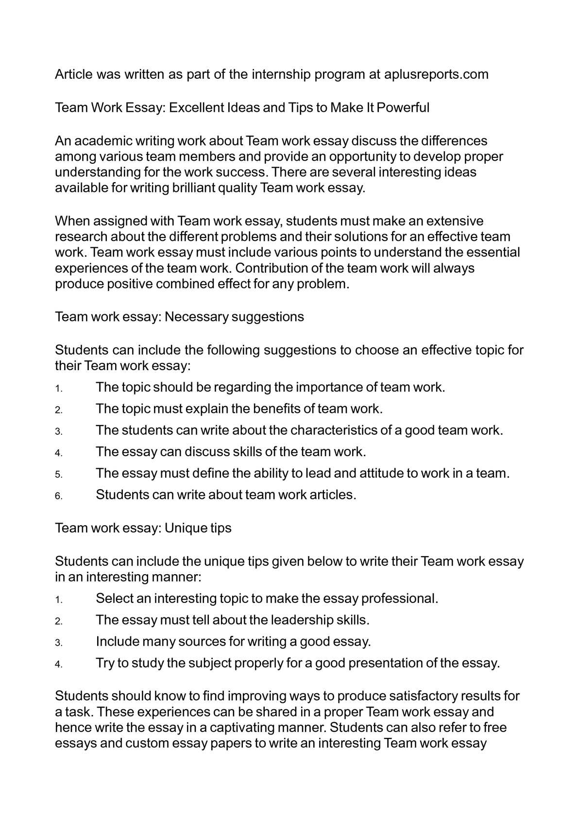 How to Produce a Powerful Essay