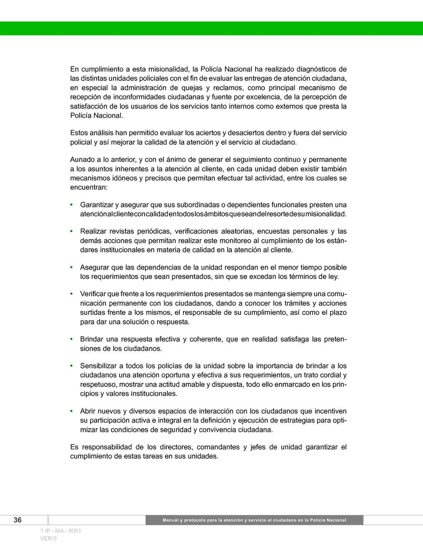 Manual Y Protocolo Para La Atención Y Servicio Al Ciudadano