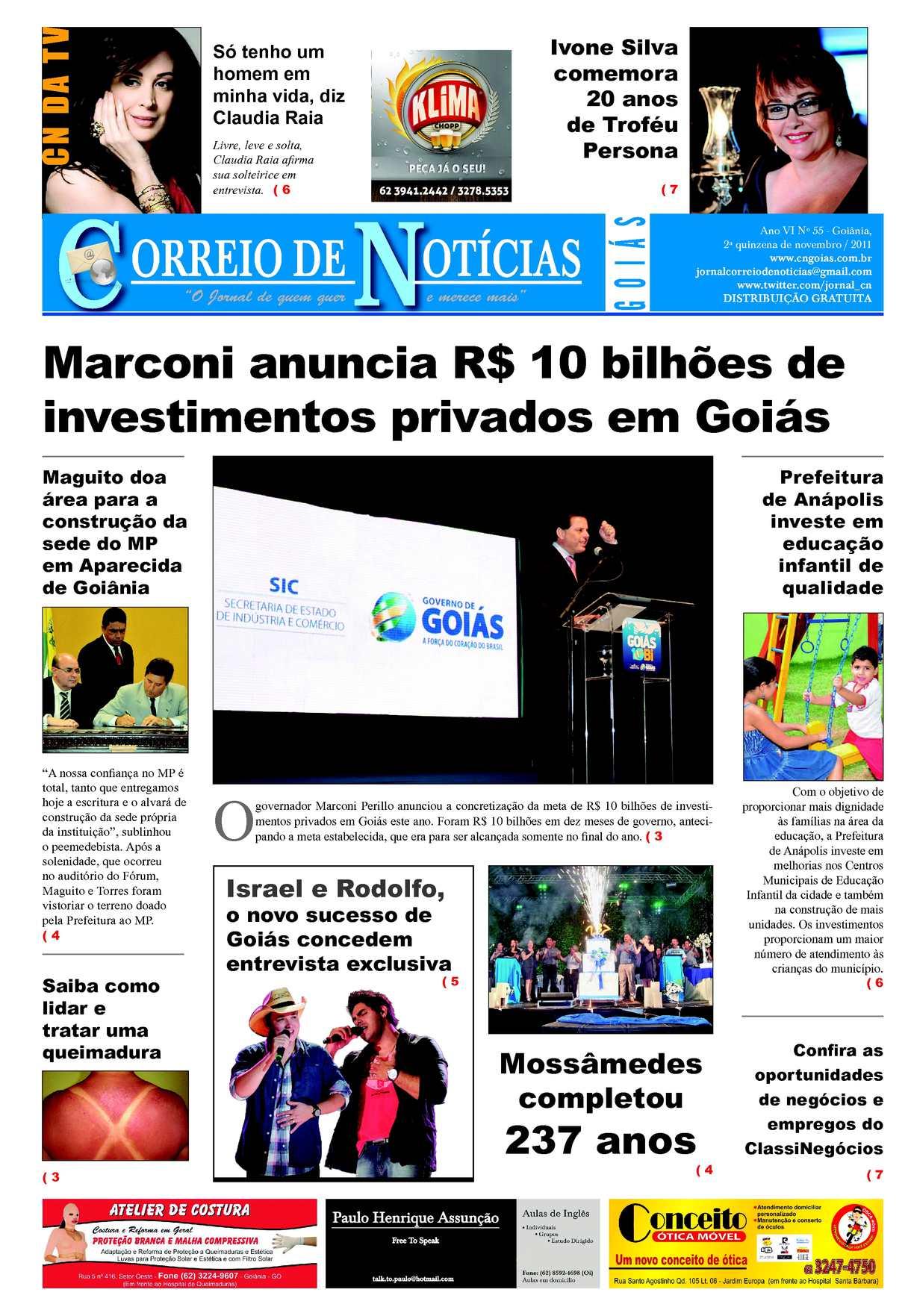 Calaméo - Jornal Correio de Noticias - 2° quinzena de Novembro 7d0e0ddb19