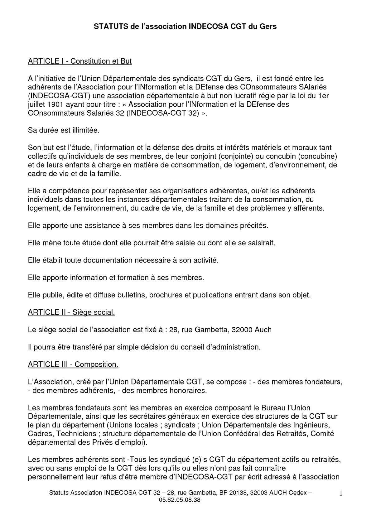 Calameo Statuts Indecosa Cgt 32