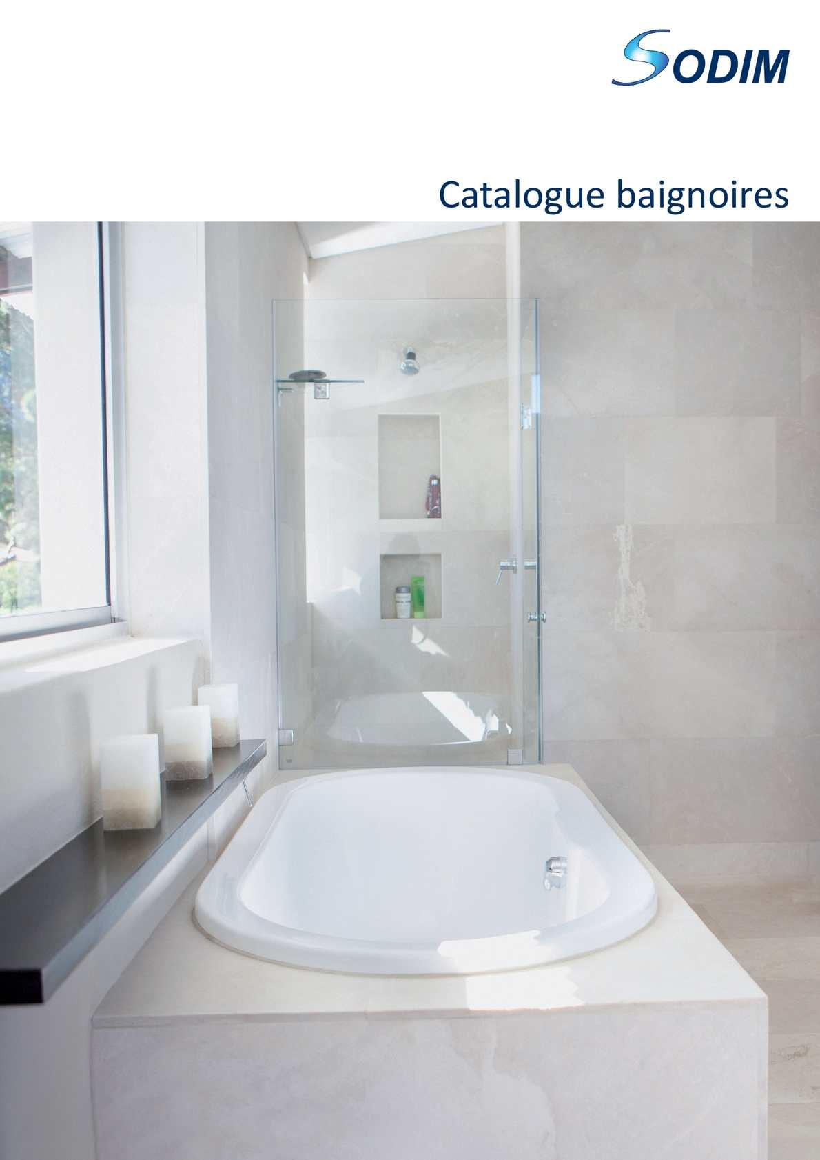 Calameo Sodim Catalogue Baignoires