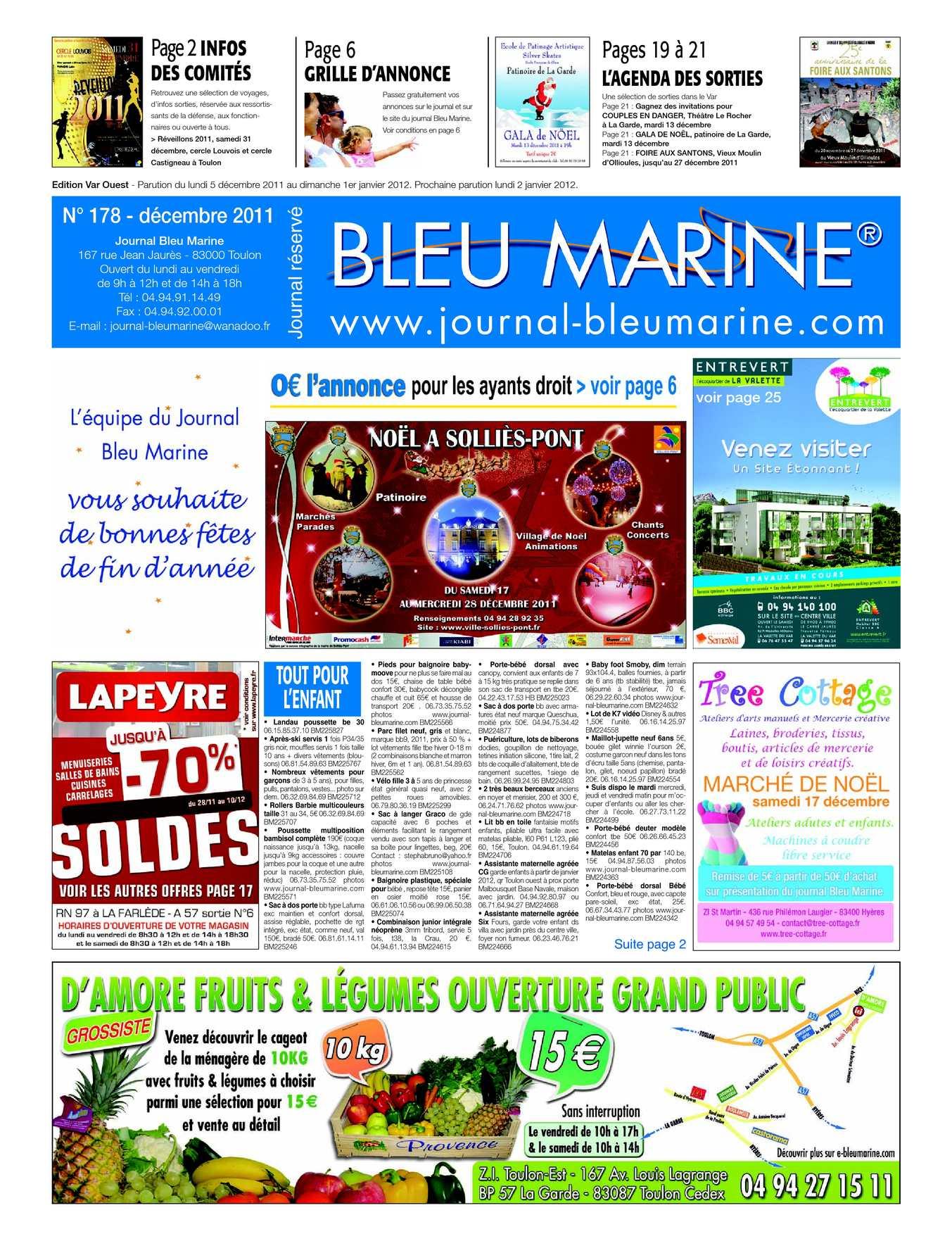 Calaméo - Journal Bleu Marine n°178 Décembre 2011 b5e39b67944
