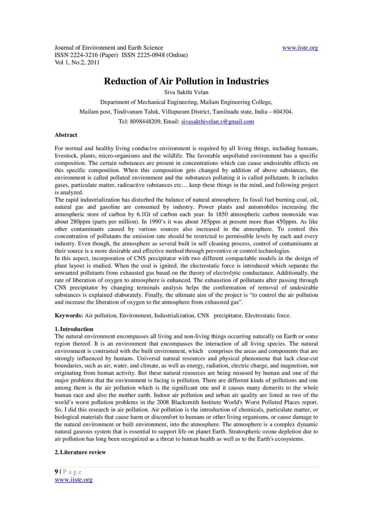 Calaméo - Reduction of Air Pollution in Industries