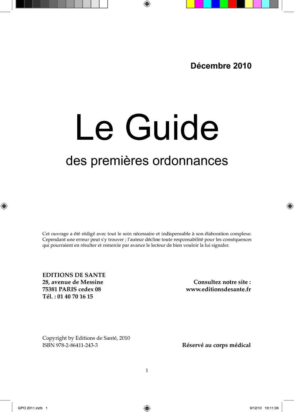 Calaméo - Guide des premieres ordonnances bac33d031aea