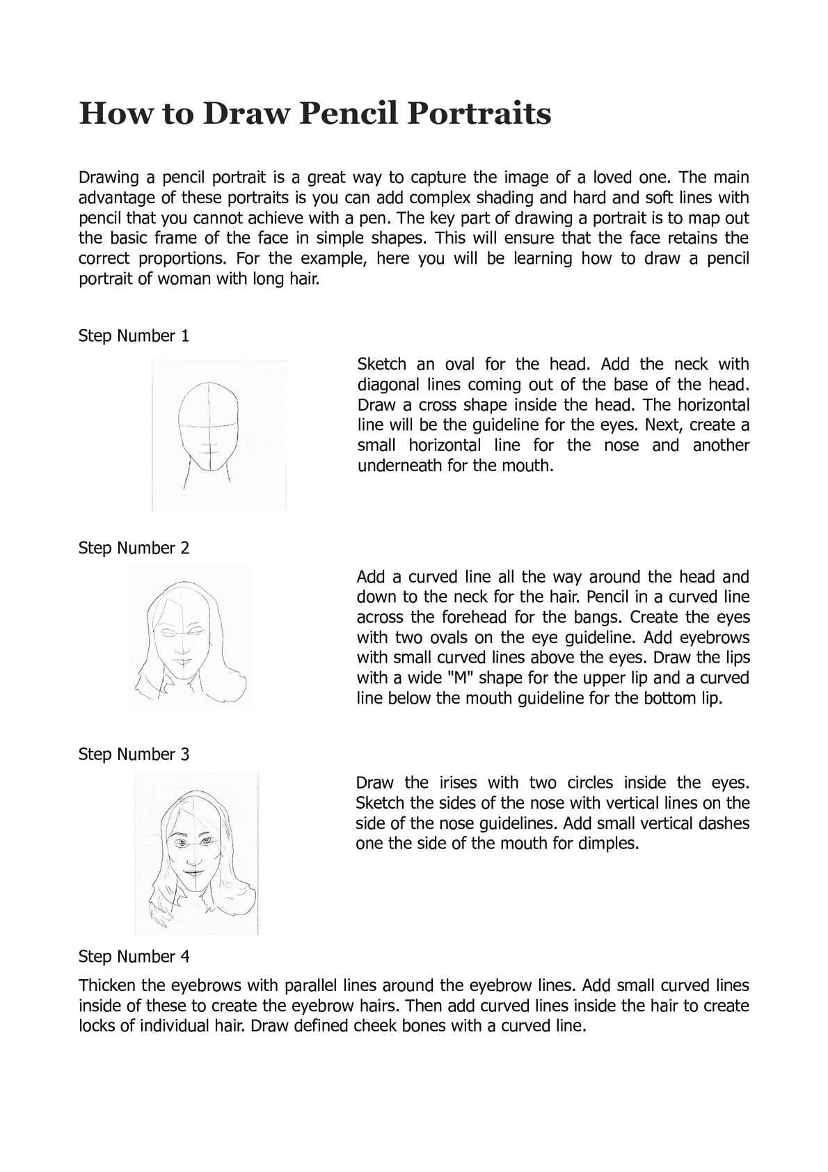 How to draw pencil portraits pencil drawing techniques